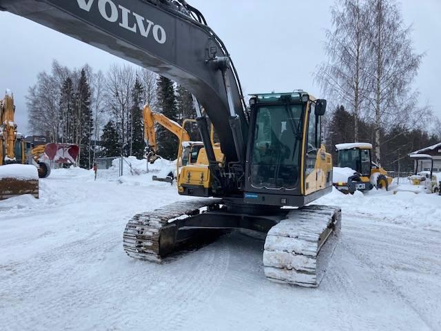 Volvo EC 220 DL / Kempele, Telakaivukoneet, Maarakennus