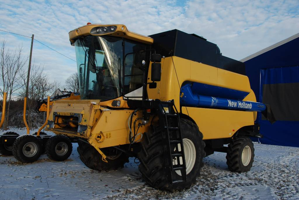 New Holland CS 6050, Combine harvesters, Agriculture