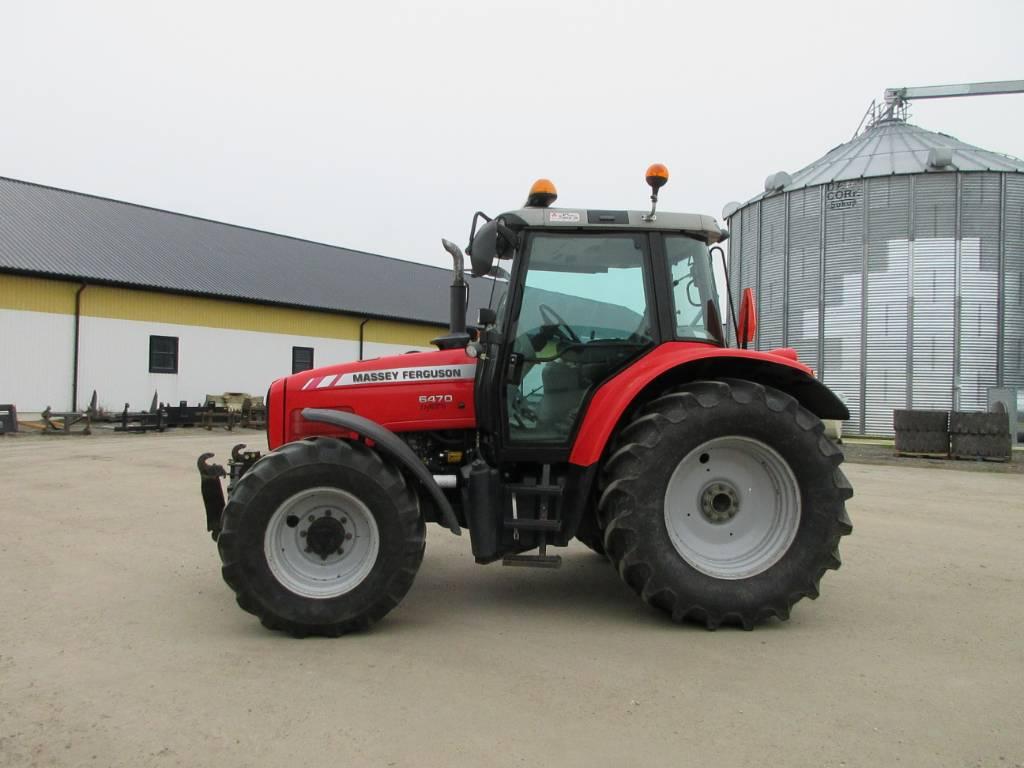 Massey Ferguson 6470 traktor med frontlyft, Lantbruksmaskiner, Lantbruk