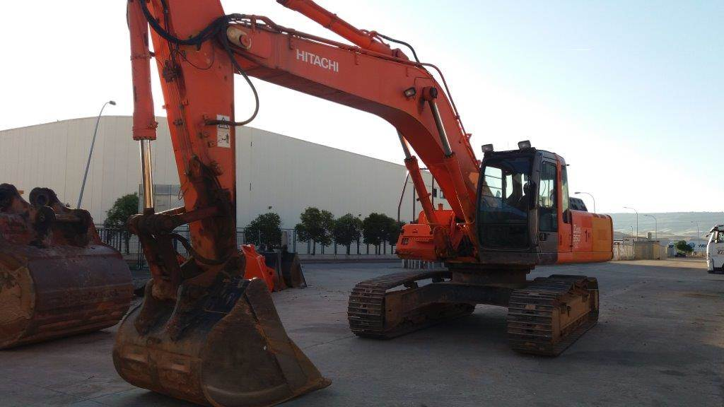 Hitachi ZX 350, Crawler Excavators, Construction Equipment