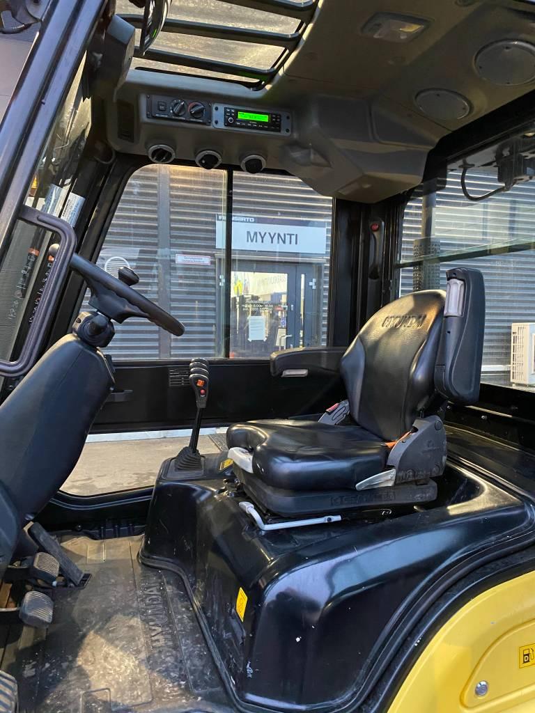 Hyundai 25D-9, Dieseltrukit, Materiaalinkäsittely