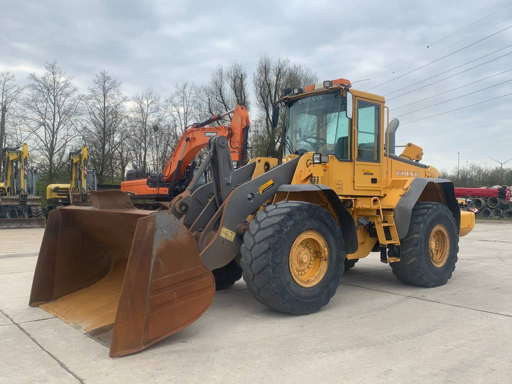Volvo L 110 E, Wheel loaders, Construction