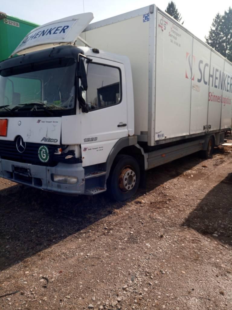 Mercedes-Benz Atego 1223 L, Skåpbilar, Transportfordon