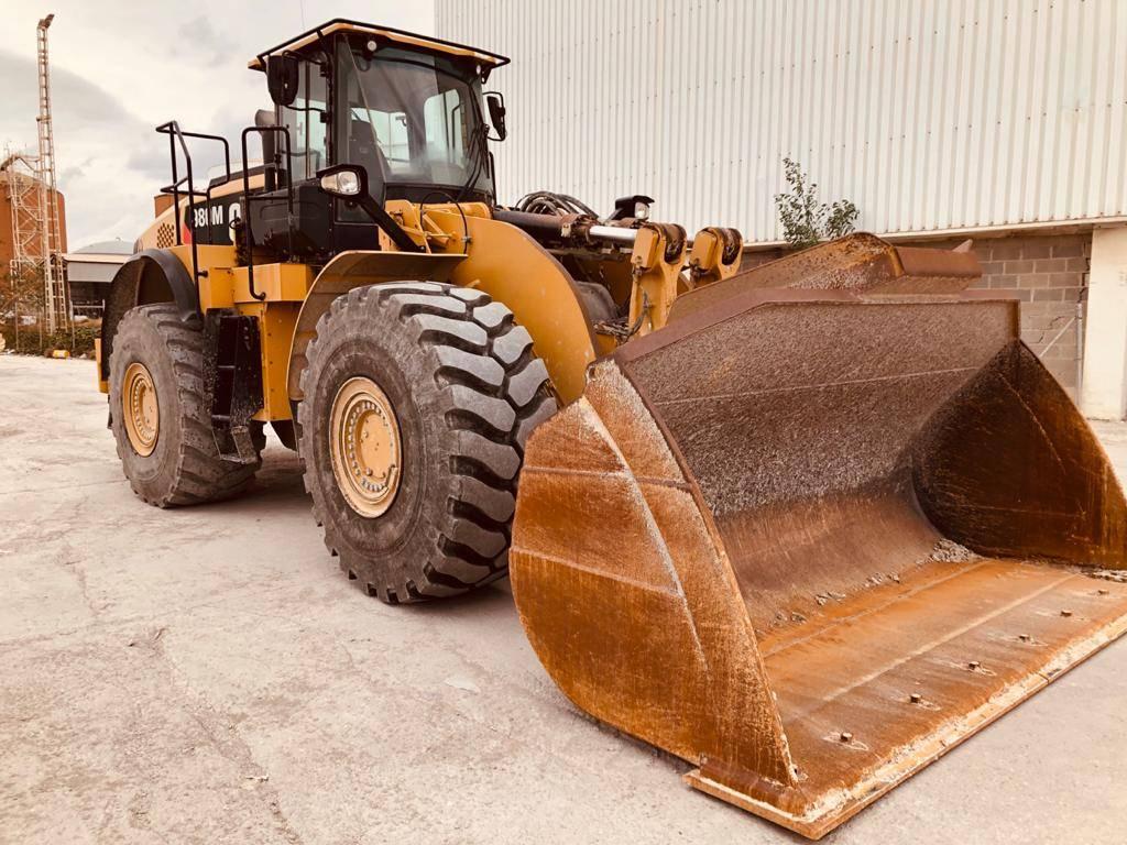 Caterpillar 980 M, Cargadoras sobre ruedas, Construcción