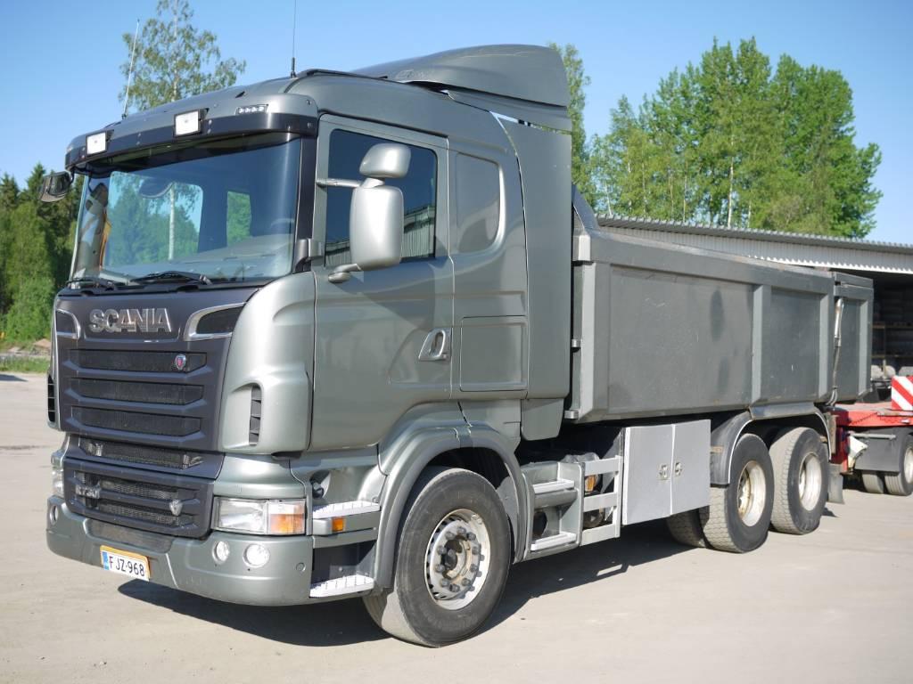 Scania R 730 6x4, Sora- ja kippiautot, Kuljetuskalusto