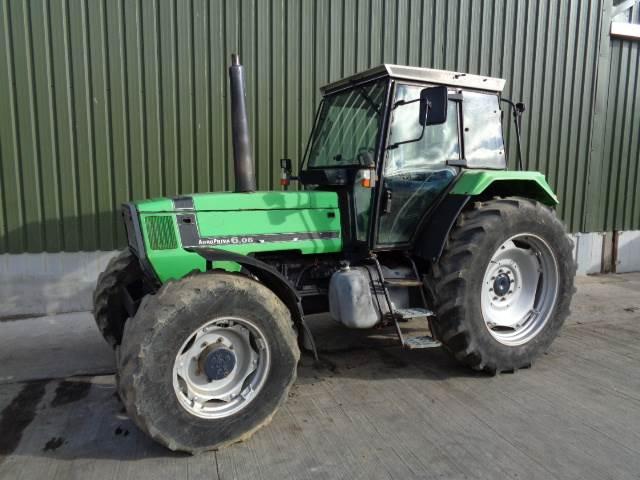 Deutz agroprima 6.06 tractor