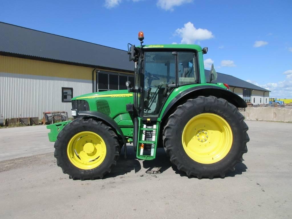 John Deere 6320 traktor, 4600 tim, Lantbruksmaskiner, Lantbruk