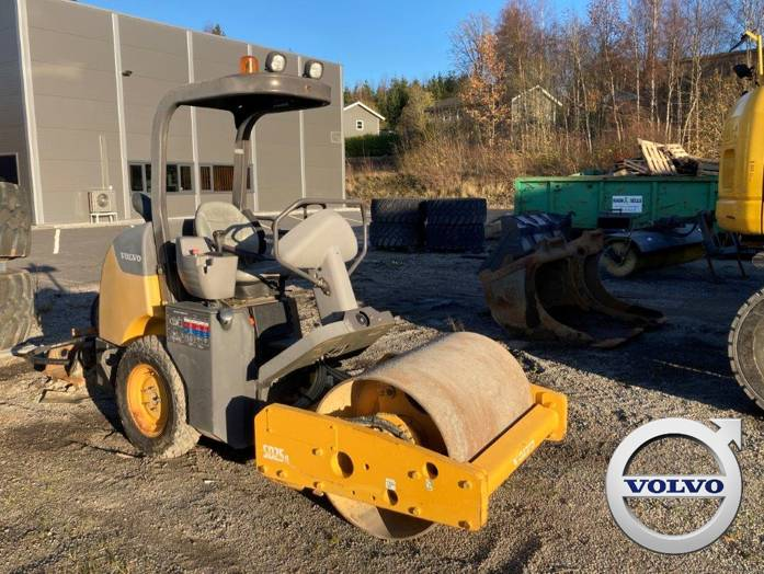 Volvo SD 25 D, Twin drum rollers, Construction Equipment