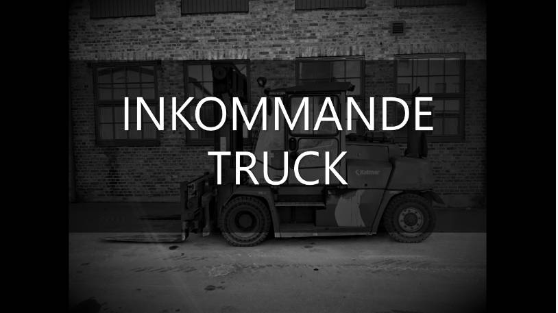 Kalmar DCE 80, Dieselmotviktstruckar, Materialhantering