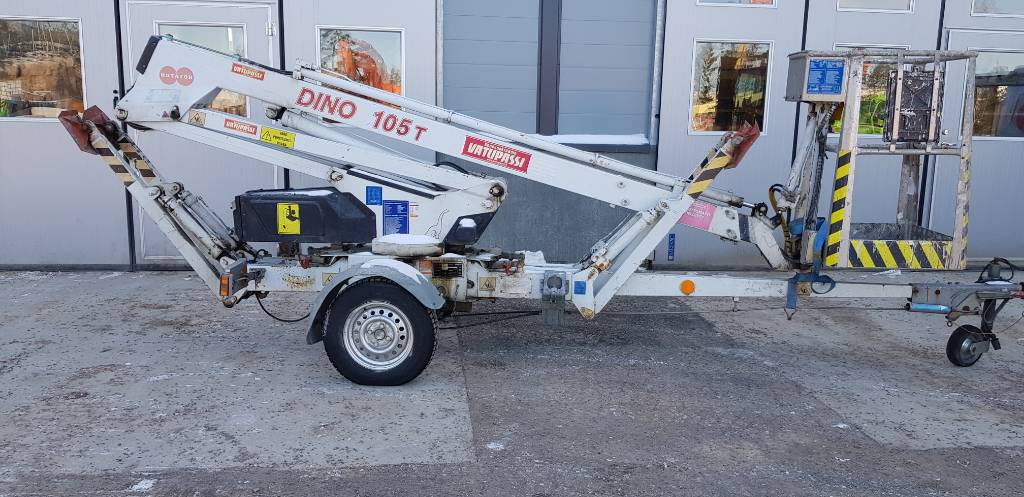 Dino 105 T, Trailer mounted aerial platforms, Construction