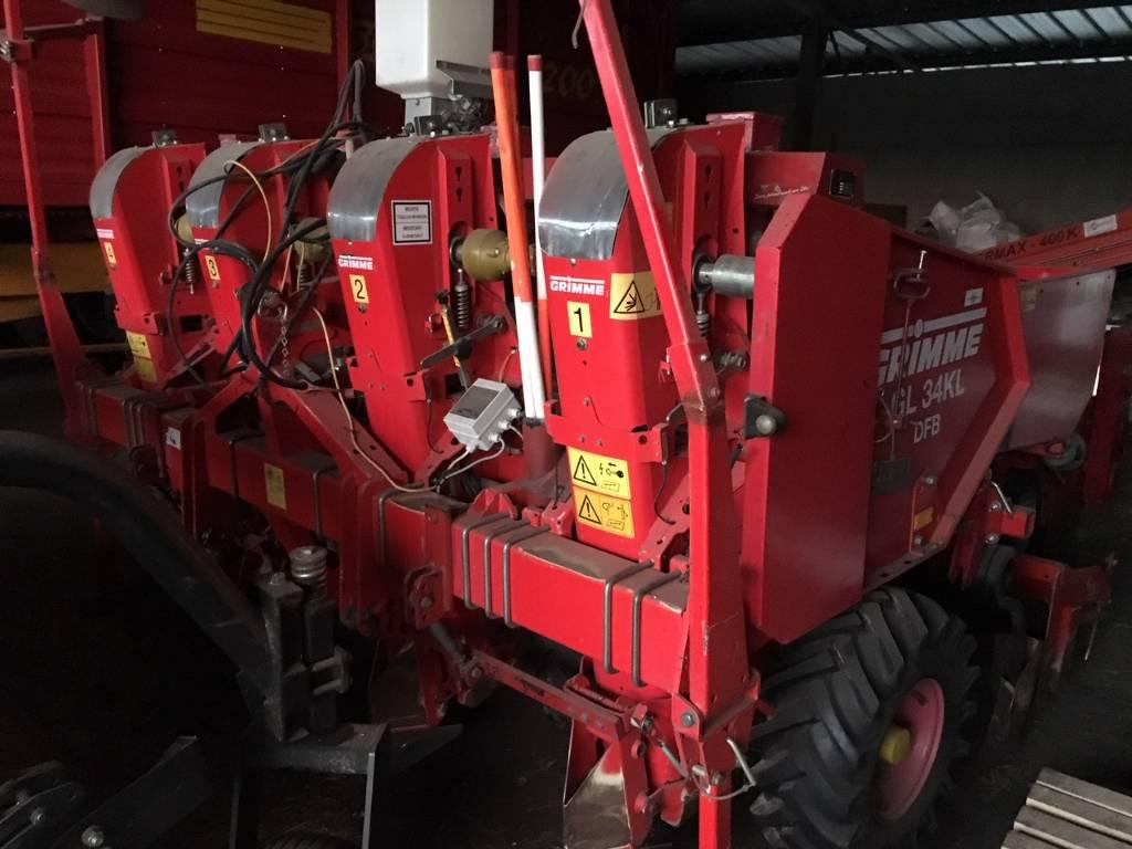 Grimme GL 34 KL DFB, Aardappelplanters, Landbouw