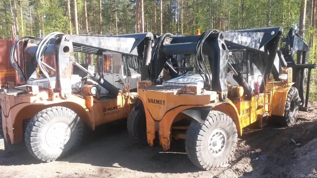 Valmet 2514 A, Muut haarukkatrukit, Materiaalinkäsittely