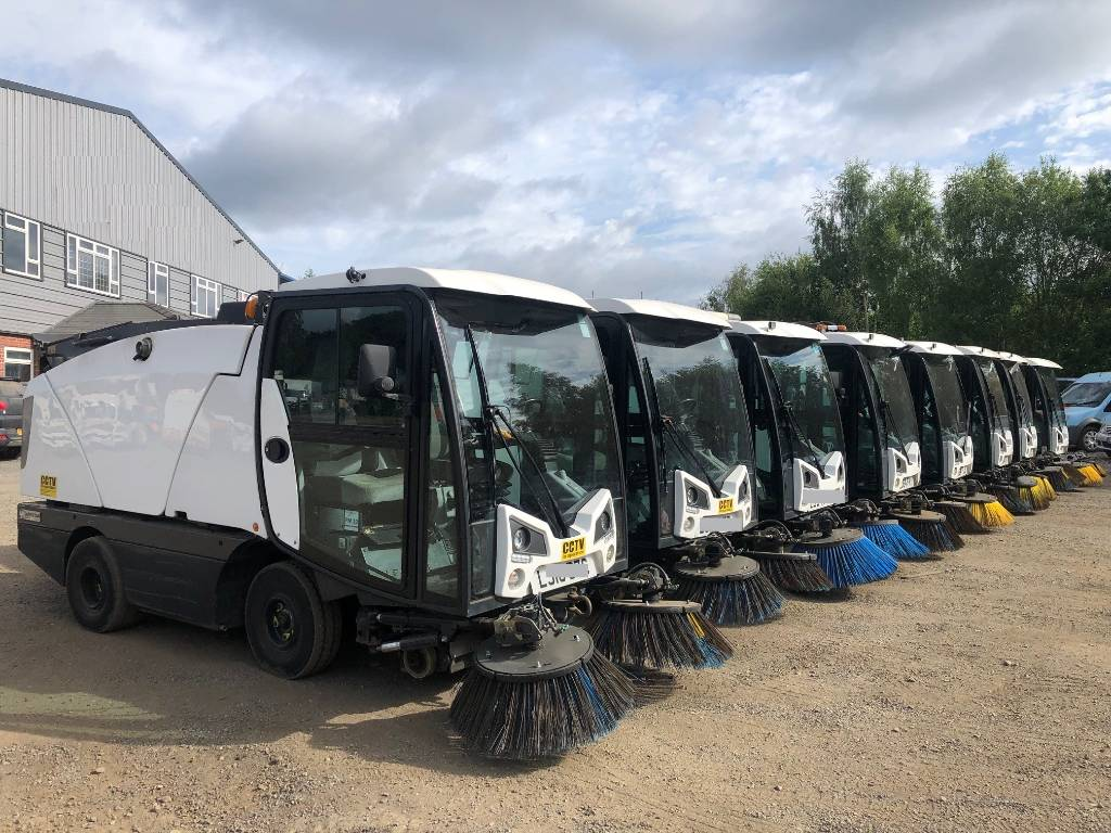 Johnston C 201, Sweepers, Groundscare machinery