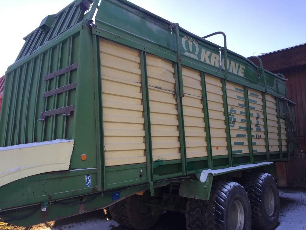 Krone 6 XL, Laadurhaagised, Põllumajandus