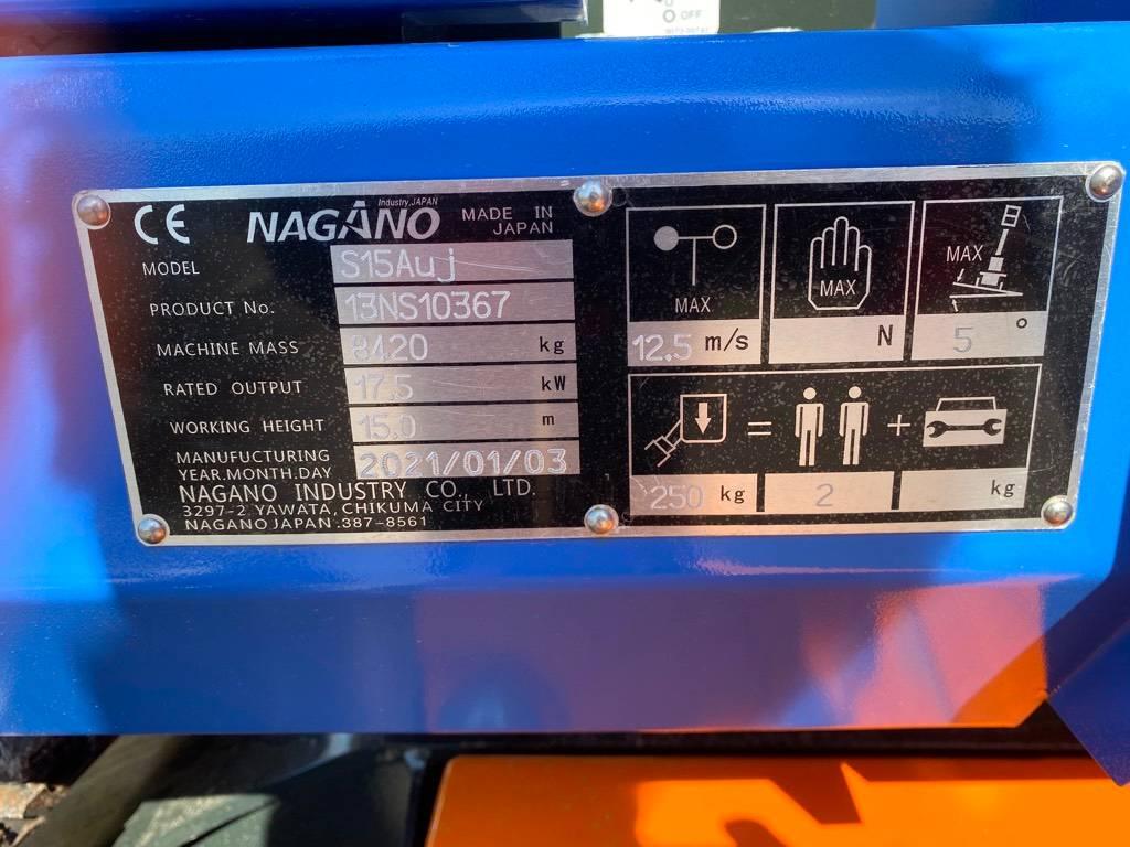 Nagano S15Auj henkilönostin, Kuukulkijat, Maarakennus