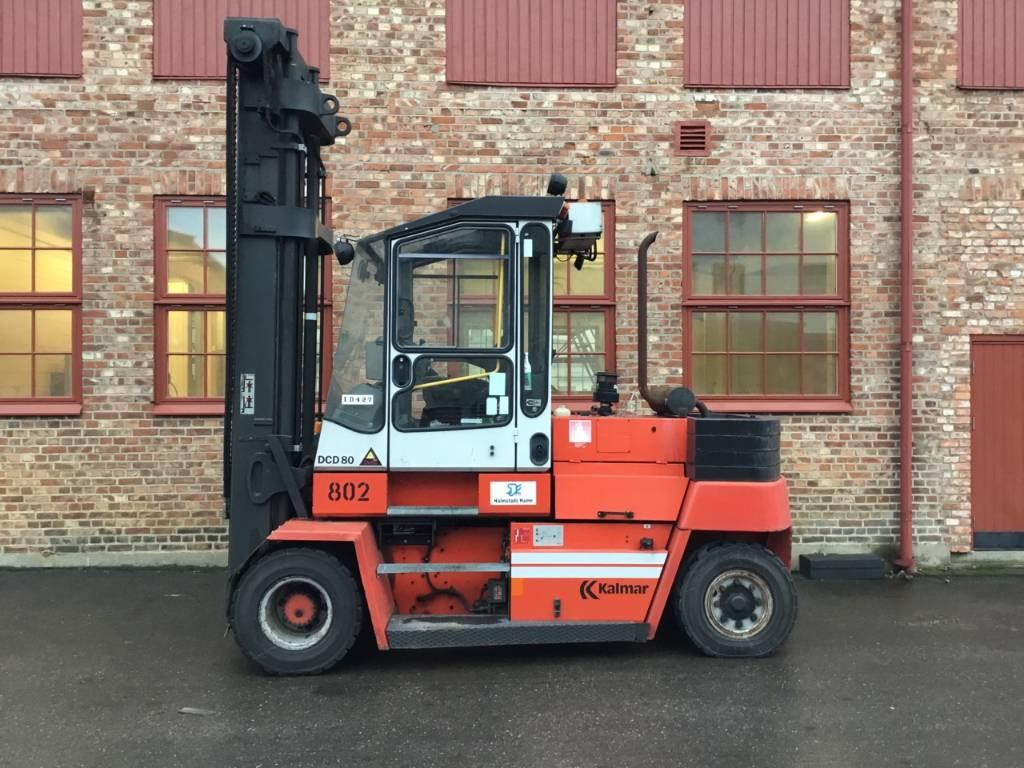 Kalmar DCD 80-6 H, Dieselmotviktstruckar, Materialhantering