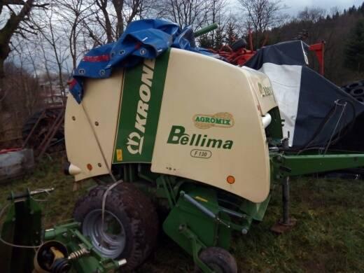 Krone Bellima F130, Prasy zwijające, Maszyny rolnicze