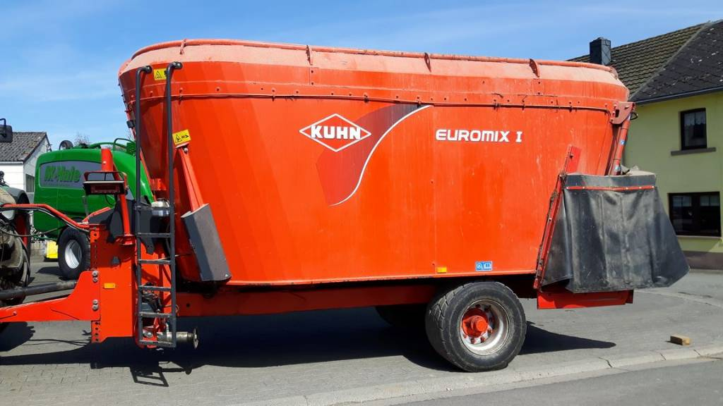 Kuhn EuroMix I 2070, Remorques autochargeuse, Agricole
