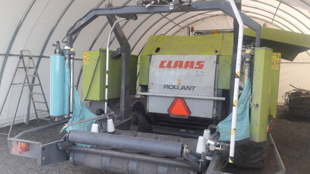 CLAAS ROLLANT 375 UNIWRAP, Other agricultural machines, Agriculture