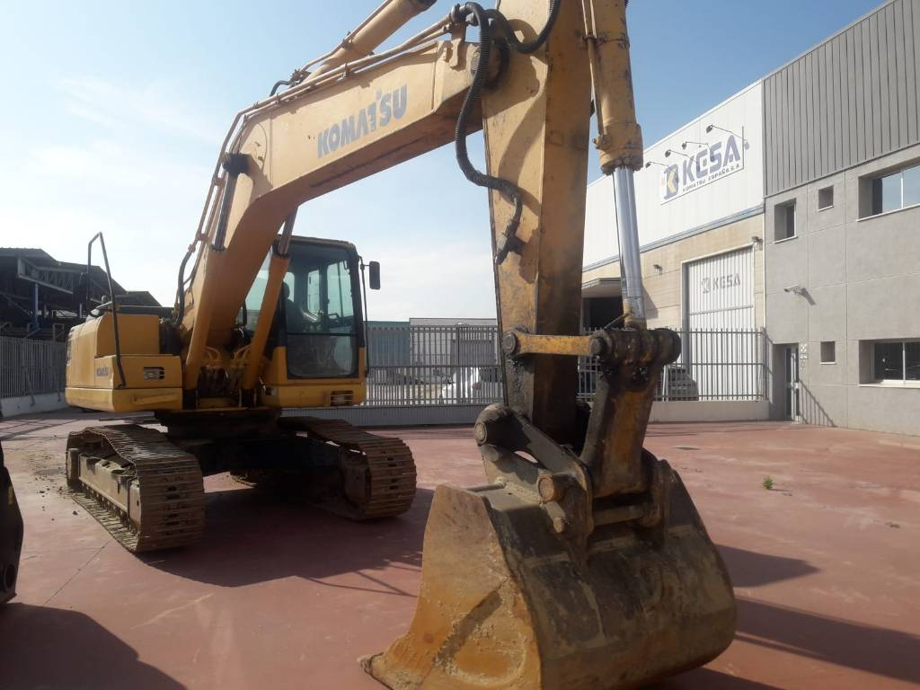 Komatsu PC210NLC-7K, Crawler Excavators, Construction Equipment