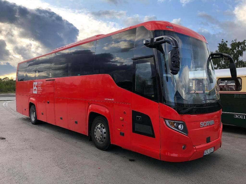 Scania HIGER TOURING HD, Kaugsõidubussid, Transport