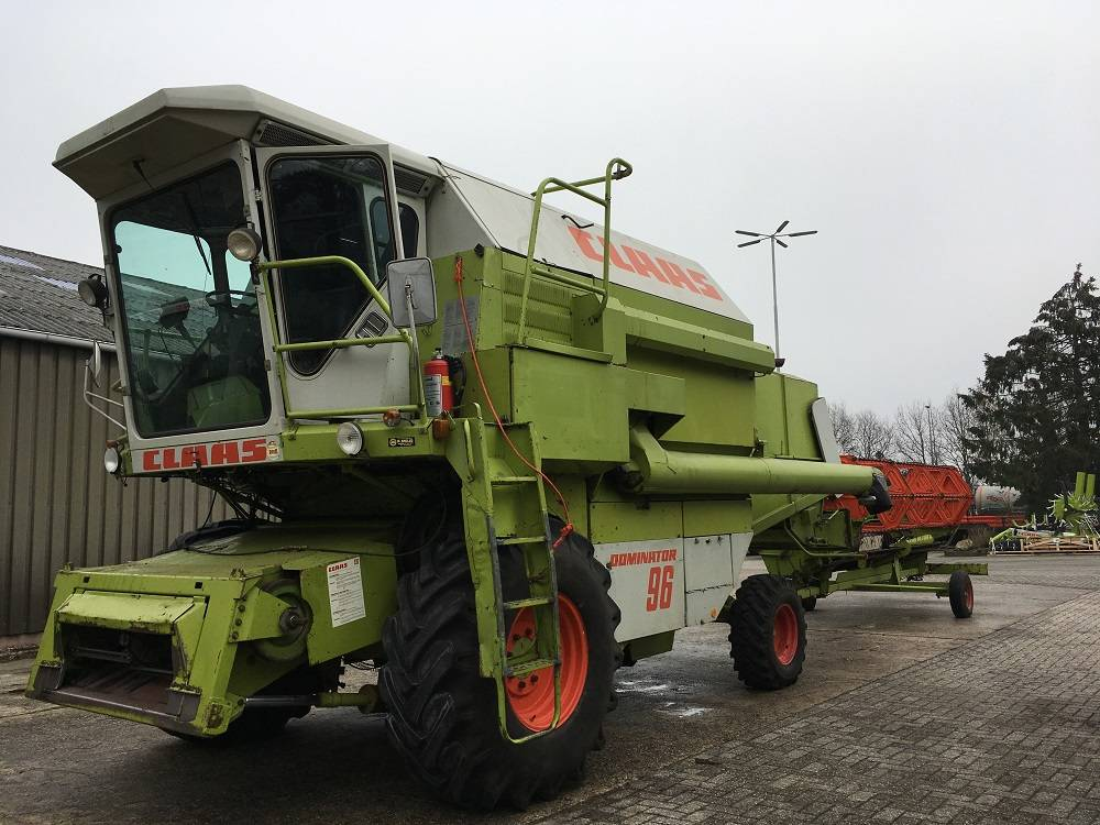 CLAAS DOMINATOR 96, Maaidorsmachines, Landbouw