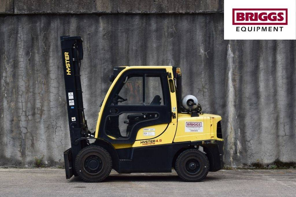 Hyster H 4.50 FT, LPG counterbalance Forklifts, Material Handling