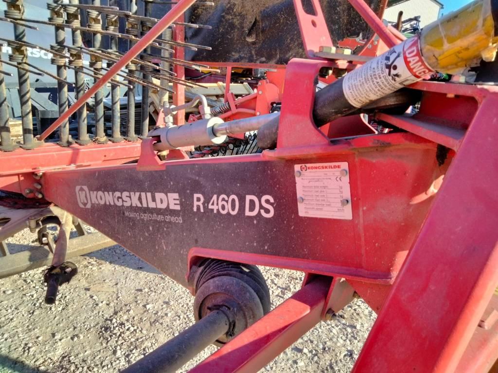 Kongskilde R460DS, Vaalutid ja kaarutid, Põllumajandus