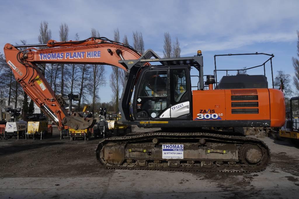 Hitachi ZX 300 LC N-6, Crawler excavators, Construction