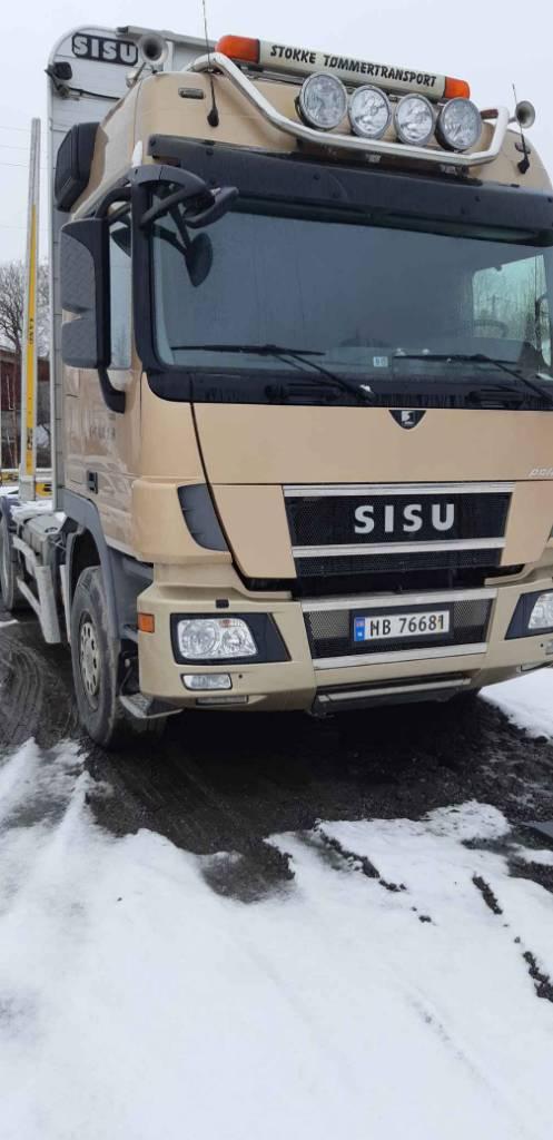 Sisu DK 16 M, Puuautot, Kuljetuskalusto