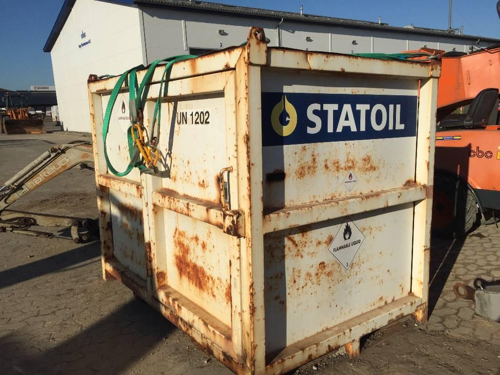 [Other] roug dieseltank 2000 ltr el pumpe, Andet tilbehør, Entreprenør