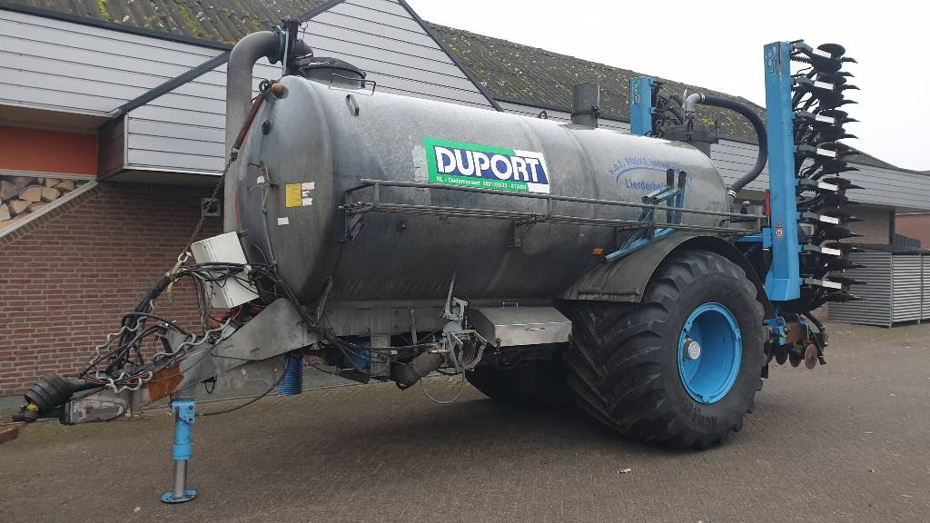 Duport PTW 11.500, Manure spreaders, Agriculture