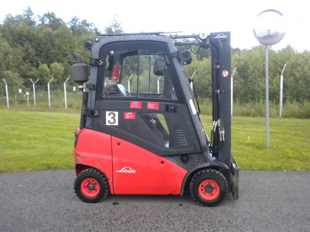 Linde H16D/391, Diesel trucks, Material Handling