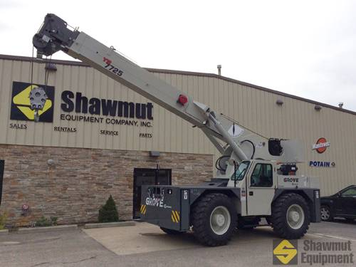 Grove YB7725, Crane Parts and Equipment, Construction Equipment