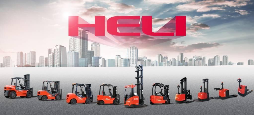 Heli CDD16J – 1,6 t stabler FRILØFT LH 3,0 m (PÅ LAGER), Ledestablere, Truck