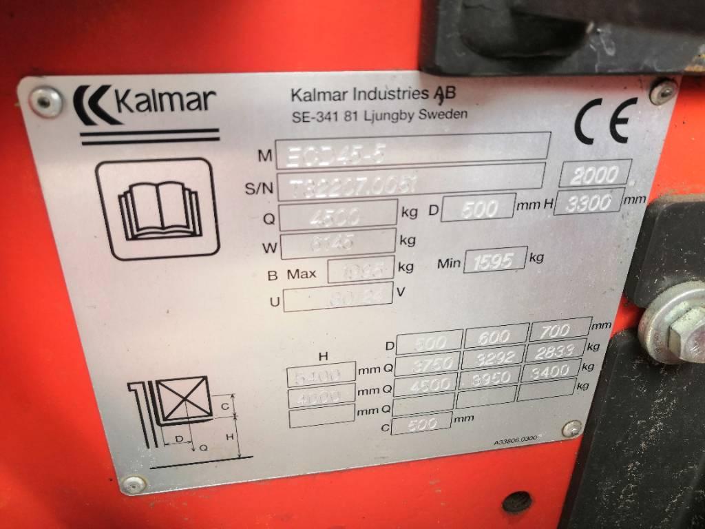 Kalmar ECD 45-5, Sähkötrukit, Materiaalinkäsittely