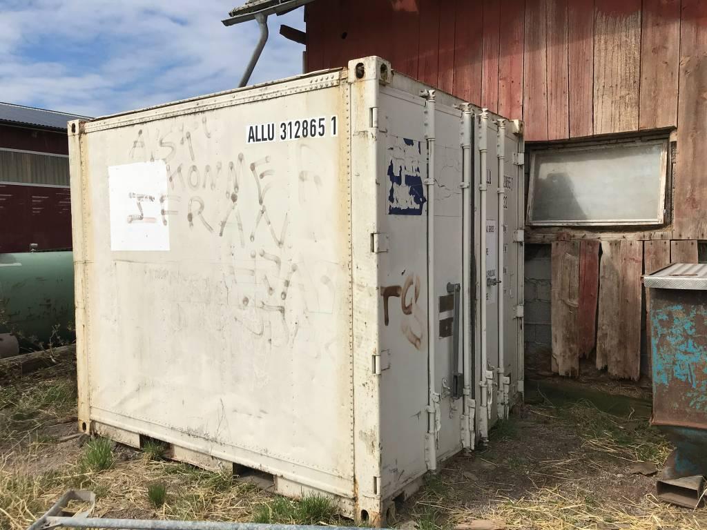 Kylcontainer 10 fot, Övrig inomgårdsutrustning, Lantbruk