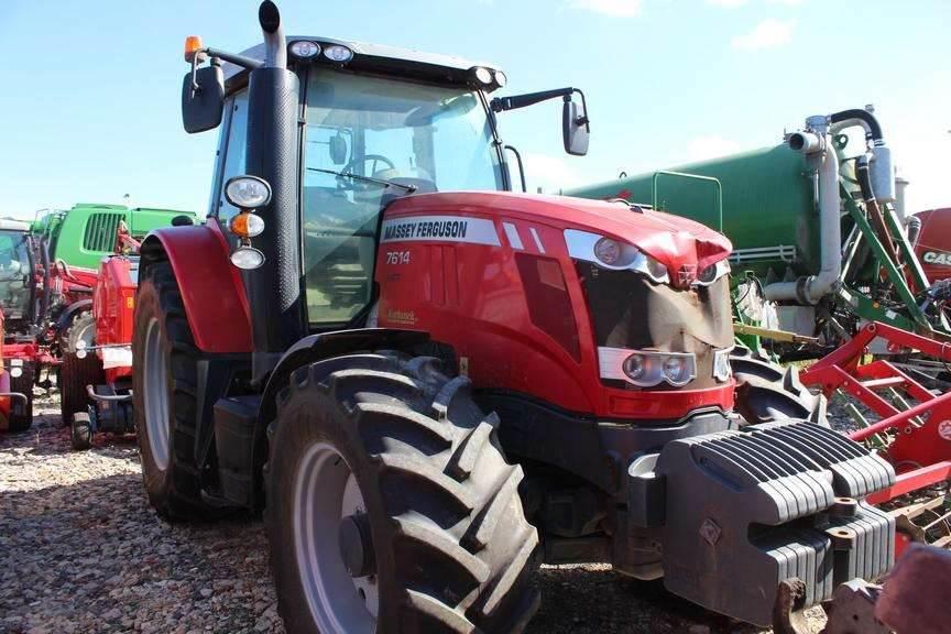 Massey Ferguson MF 7614 XAX50D23KA413A, Tractors, Agriculture