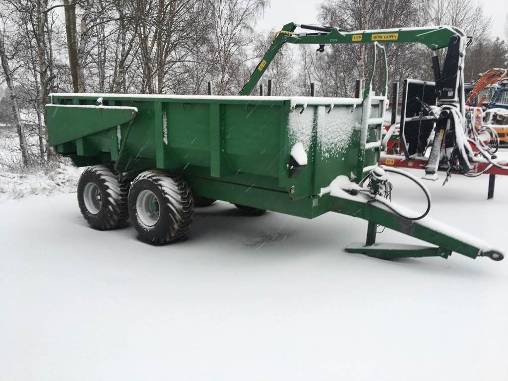 [Other] Dumpervagn 9 ton, Tippvagnar, Lantbruk