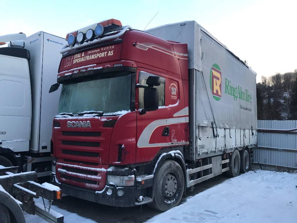 Scania R480 LB6x2HNB, Kapellbil, Transport