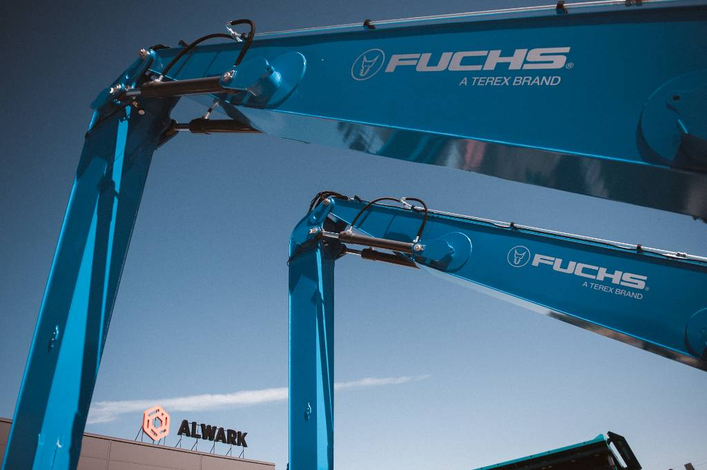 Terex Fuchs MHL350, Others, Material Handling