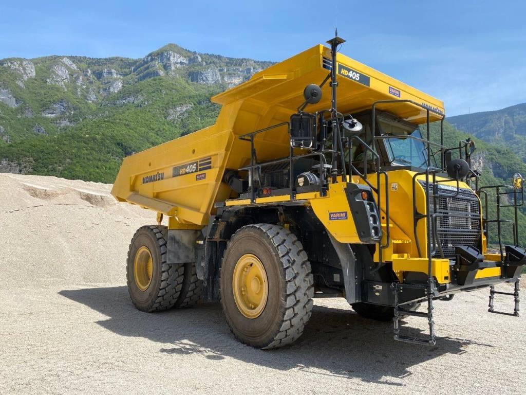 Komatsu HD405-8, Rigid dump trucks, Construction Equipment