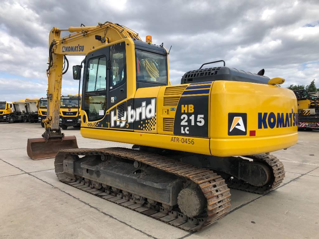 Komatsu HB 215 LC, Crawler excavators, Construction