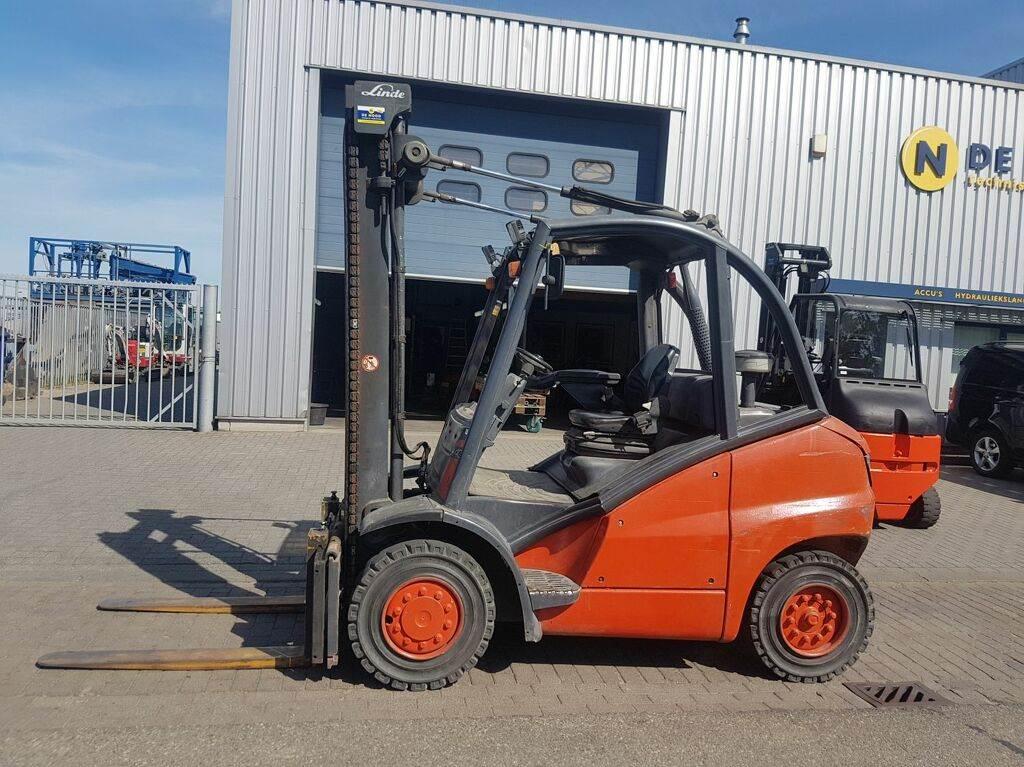 Linde H40D, Diesel heftrucks, Laden en lossen