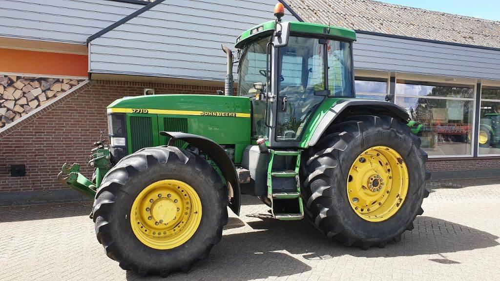 John Deere 7710 trekker, Tractors, Agriculture