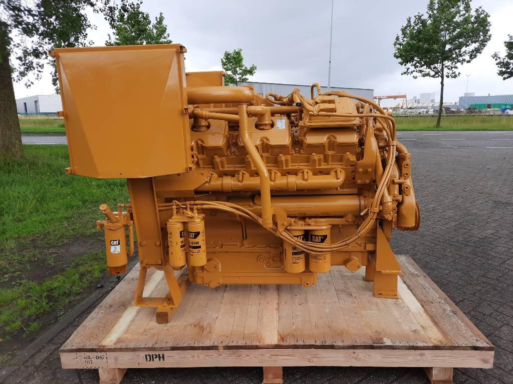 Caterpillar 3412 E - Overhauled - 760HP  2100RPM - BDT, Marine Applications, Construction