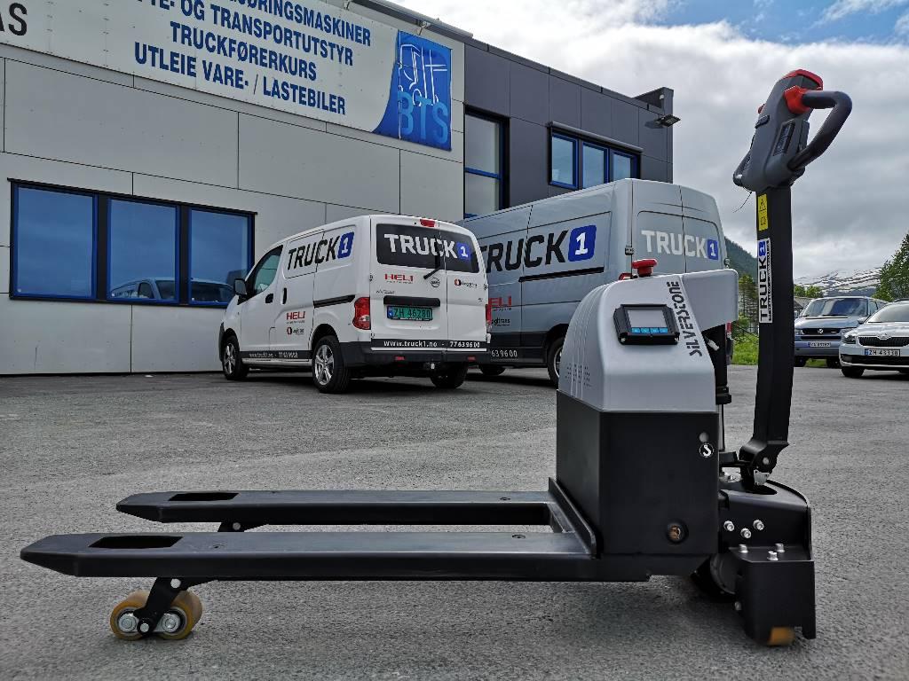 Silverstone T20-15ET-SC - 1,5 t palletruck med vekt (PÅ LAGER), Lavtløftende truck, Truck