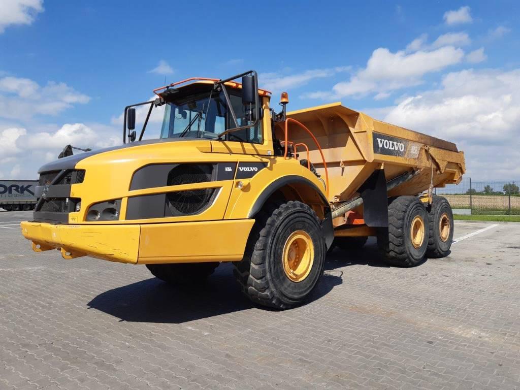 Volvo A35G, Articulated Dump Trucks (ADTs), Construction Equipment