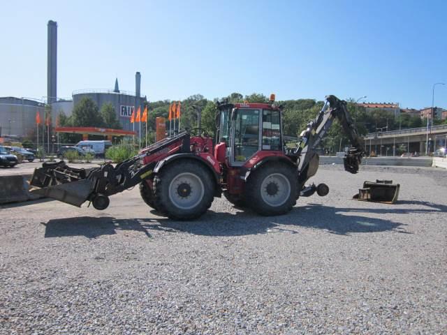 Huddig 1260 B Rail, Grävlastare, Entreprenad