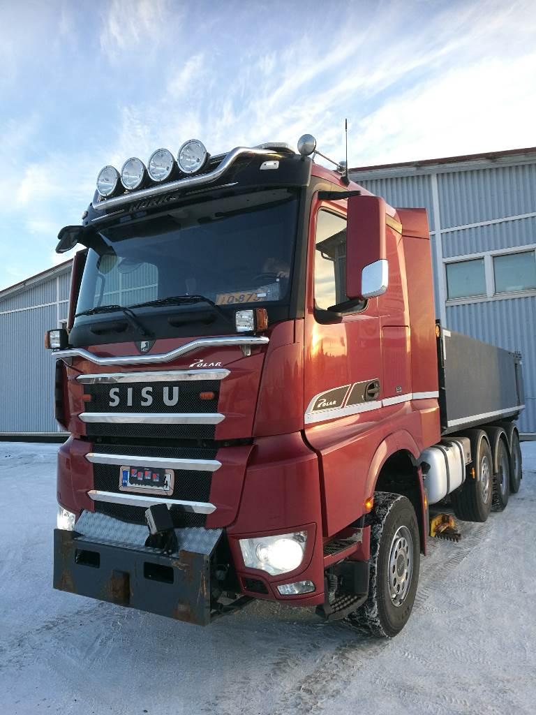 Sisu Polar Works Euro6, Sora- ja kippiautot, Kuljetuskalusto